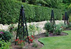 Rose Pillar Malmaison - Garden Obelisks