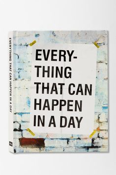 UrbanOutfitters.com > Everything That Can Happen In A Day By David Horvitz