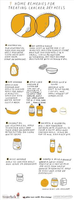 How To: 9 DIY Home Remedies for Treating Cracked, Dry Heels – Jason C. How To: 9 DIY Home Remedies for Treating Cracked, Dry Heels 9 DIY Home Remedies for Treating Cracked, Dry Heels « The Secret Yumiverse Dry Cracked Heels, Cracked Skin, Cracked Feet, Diy Foot Scrub For Cracked Heels, Cracked Heels Treatment, Foot Remedies, Health Remedies, Asthma Remedies, Skin Care