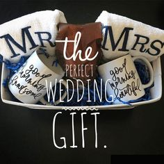 The PERFECT Wedding Gift Set!