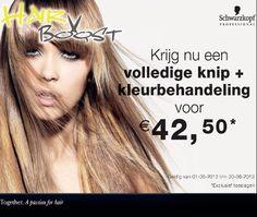 gekleurd de zomer in? #actie hairboost #meppel #schwarzkopf