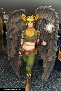Hawkgirl. Curated by Suburban Fandom, NYC Tri-State Fan Events: http://yonkersfun.com/category/fandom/