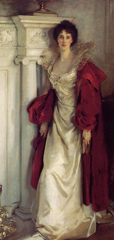 Winifred, Duchess of Portland ~ John Singer Sargent, 1902.  The Duchess (7 September 1863 – 30 July 1954) was a Scottish-born British humanitarian and animal rights activist.