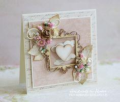 Shabby heart card. -  BEAUTIFUL!  A
