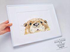 Ich glaub er will da raus. (gerettet werden kann der kleine Otter aus den Shops wandklex.etsy.com & wandklex.dawanda.com da hab ich ihn eben vorhin eingesperrt) Verwendetes Material:Schmincke Künstlerfarben Horadam auf @hahnemuehle Bamboo mixed Media 275g Fotovorlage lizenziert via @fotolia/angelinachirkova Malerei und Produktfoto @wandklex Kunstatelier . #wandklex #malerei #handgemalt #aquarell #hahnemühle #kunst #art #watercolor #watercolour #tier #tierportrait #otter #seeotter #fischotter…