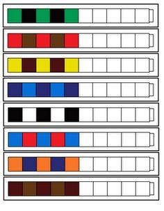 Patrones con secuencias lógicas para trabajar con policubos. #Policubos #Unifix #Multicubos #matemáticas #lógica