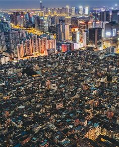 Guangzhou, China. City with 10m habitants