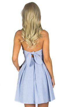 The Corbin - Navy http://www.laurenjames.com/collections/spring-2015-dresses/products/corbin-seersucker-dress