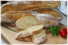 Baguette Rustica 100 g lauwarmes Wasser 5 g (fünf Gramm) frische Hefe 150 g Mehl 550er 2 Min./Knetstufe 2 Stunden im...