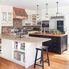 Images About Kitchen Inspirations On Pinterest Industrial Kitchens