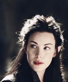 Arwen....When I grow up, I should like to be an elf haha