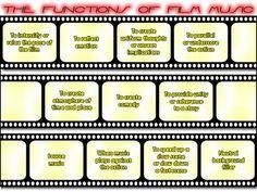 music in film lesson ideas