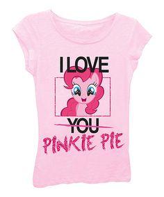 Look what I found on #zulily! Light Pink My Little Pony Pinkie Pie Tee - Girls #zulilyfinds