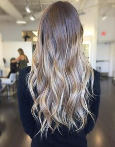 Long Hairs Top Trends Balayage Stylish Hairstyles Collection 2017