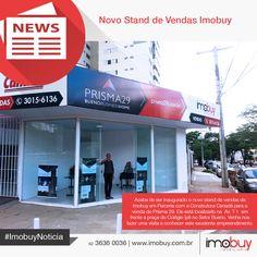 A Imobuy está de plantão novo e convida você para uma visita para conhecer este excelente empreendimento no Setor Bueno. #ImobuyNoticia #Prisma29