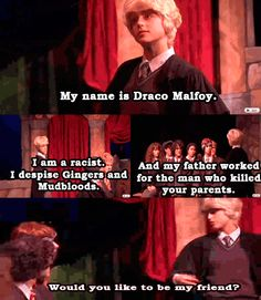A Very Potter Sequel. Oh Draco...