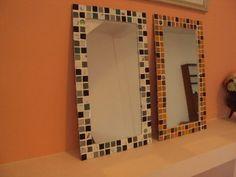 espejos 50x30 con venecitas y gemas variación de colores !!
