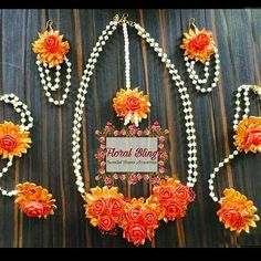 To get one for yourself or for your friends and relatives for their wedding kindly contact 8779268166 . Wedding Trivia, Wedding Bride, Silk Thread Necklace, Beaded Necklace, Fake Flowers, Artificial Flowers, Flower Ornaments, Indian Wedding Jewelry, Wedding Sutra