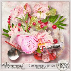 Commercial Use 101 Mix :: COMMERCIAL USE :: Memory Scraps