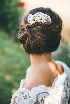 Brautfrisuren locker hochgesteckt