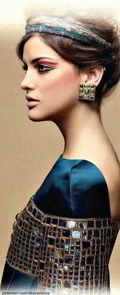 7674a7b0059 Chanel bizance- interesting make up Boutique Chic