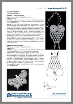 Kissa, Crocheting, Diy And Crafts, Crochet Earrings, Helmet, Safety, Patterns, Knitting, Jewelry
