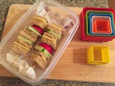 Ideas for fun lunchboxes! No more soggy sarnies in 2016!
