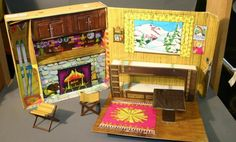 Even though I had never been, my Barbie loved to go skiing and stay at her Ski Cabin