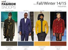 Fall/Winter 2014/2015 Runway Color Trends