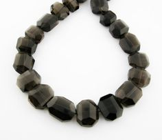 Shop for beads on Etsy, the place to express your creativity through the buying and selling of handmade and vintage goods. Smoky Quartz, Beaded Necklace, Gems, Jewellery, Bracelets, Stuff To Buy, Beaded Collar, Jewels, Jewelry Shop