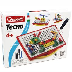 Quercetti Tecno Building Toy Educational Toys Planet 4 Year OldsNew