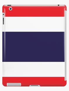 Flag Of Thailand. • Millions of unique designs by independent artists. Find your thing. Thailand Flag, Student Discounts, Lip Designs, Skin Case, Long Hoodie, Ipad Case, Protective Cases, Classic T Shirts