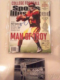 Matt Barkeley Signed Sports Illustrated Magazine Cover