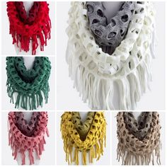 Infinity two toned Scarf