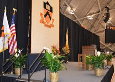 Stage Decor - Welcome to Events by Monday Morning - Princeton University.