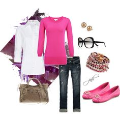 PiNk, created by jillhammel.polyvore.com