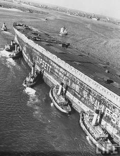 SS Normandie.