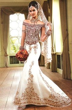 inidan couture wedding dress