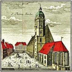 Il galà della musica The music gala Thomaskirche Leipzig, where Bach was Thomaskantor