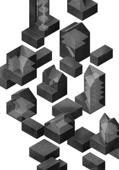 The Architectural Review Drawings Folio Hedvig Skjerdingstad, 'Copenhagen City…
