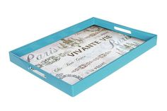 Notions Paris Rectangle Tray with Handles