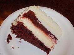 Cheesecake Factory Restaurant Copycat Recipes: Red Velvet Cheesecake