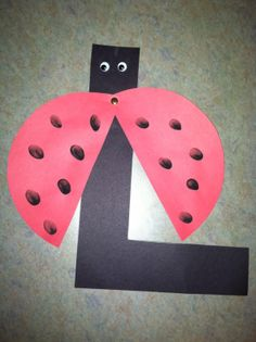 L is for Ladybug storytime - books, songs, rhymes, and craft