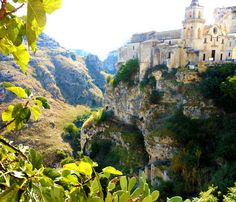 Matera, Italy - If this old church could talk, imagine the centuries of stories it could tell.