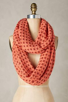 Gorgeous infinity scarf #Anthrofave