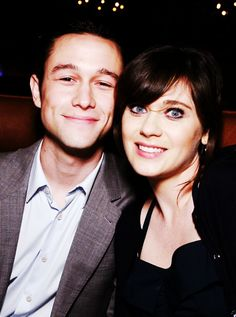 Joseph Gordon Levitt and Zooey Deschanel! Perfect couple?