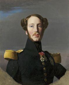 Portrait of Ferdinand Philippe, Duke of Orleans, 1844 by Jean-Auguste-Dominique Ingres