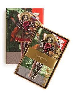 Christian Lacroix Note Card Set, Anges Baroques