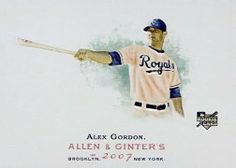2007 Topps Allen and Ginter #204 Alex Gordon RC by Topps Allen and Ginter. $1.04. 2007 Topps Co. trading card in near mint/mint condition, authenticated by Seller
