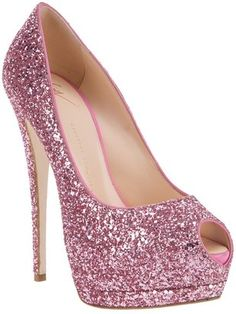 ShopStyle:Giuseppe Zanotti Design Glitter embellished pump